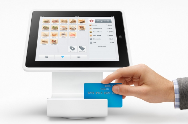 Meet Square Stand, an iPad holder that lets business accept credit cards