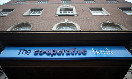 Co-operative Bank stops offering new loans to businesses